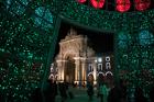 Christmas Tree. Commercial Square, Lisbon
