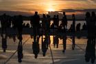 Farewell to the Sun. Zadar