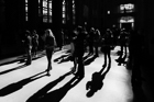 Sagrada shadows. Barcelona