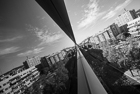 Diagonal reflections, Barcelona