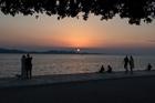 Sunset. Zadar
