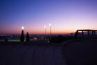 Dusk light. Montjuic, Barcelona