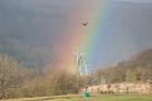 Rainbow. Goathland, North York Moors