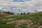 Mountain views. Whistler Mountain