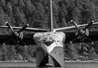 Hawaii Mars Waterbomber. Sproat Lake, Vancouver Island