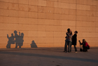 Shadows. Montjuïc, Barcelona