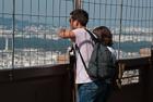 Les Tourists Eiffel