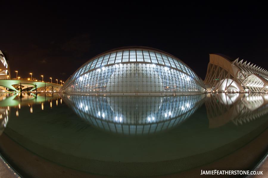 L'Hemisfèric, Valencia