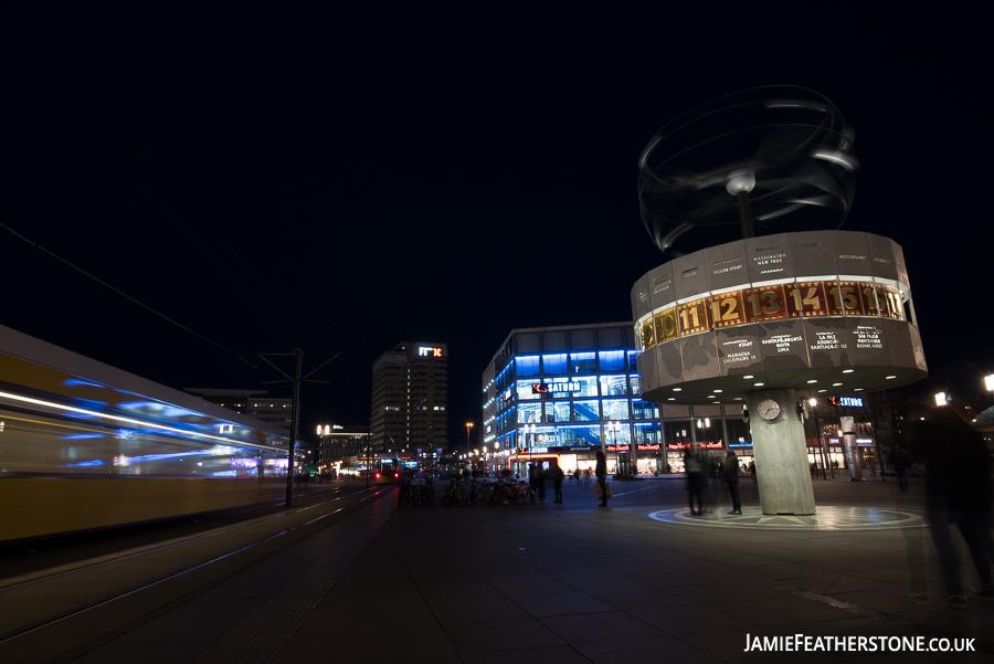 World Clock. Alexanderplatz, Berlin
