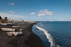 Volcanic sands, Stromboli
