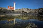 Fisgard Lighthouse. Esquimalt Harbour